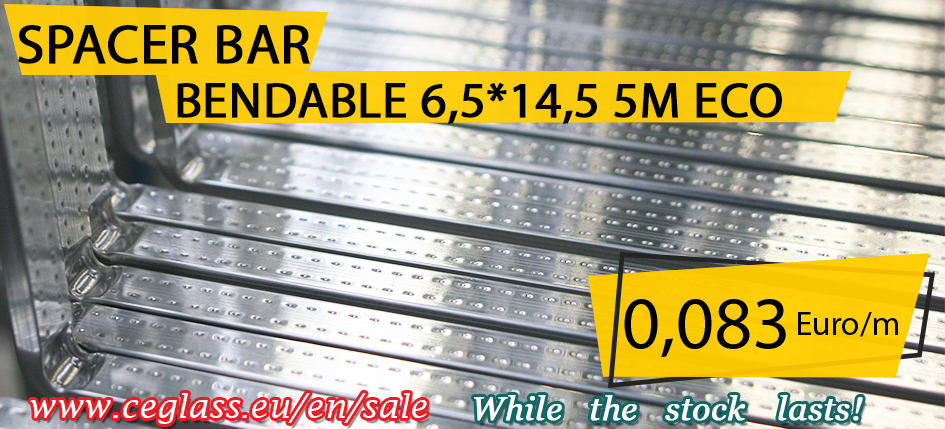 CE Glass Industries spacer bar for sale