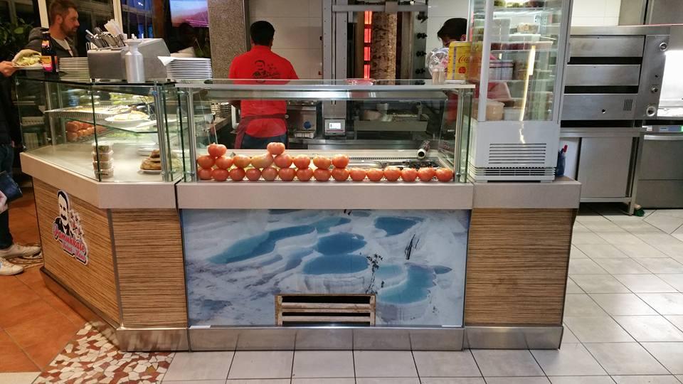 CE Glass Industries referencia Pamukkale Kebab Haus printelt üveg