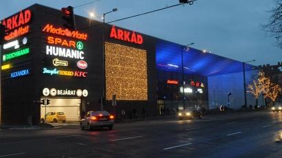 Szeged Árkád Ce Glass Industries reference