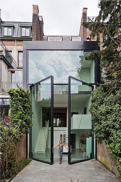 Giant doors in Belgium