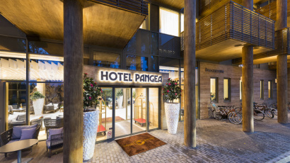 CE Glass referencia Pangea Hotel
