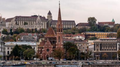 Szilágyi Dezső téri református templom CE Glass referencia